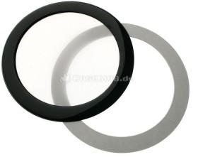 DEMCiflex dust filter 92mm circular black/white (DF0489)