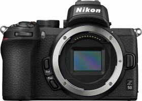 Nikon Z 50 with third-party manufacturer lens