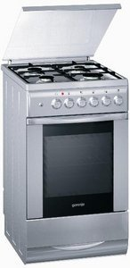 Gorenje K734E electric cooker with gas hob