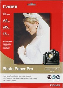 Canon PR-101 photo paper Pro A4, 245g, 15 sheets (1029A002)