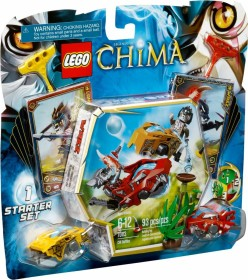 LEGO Legends of Chima Speedorz - Starter Set Chi Battles (70113)