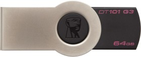 Kingston DataTraveler 101 G3 schwarz 64GB, USB-A 3.0 (DT101G3/64GB)