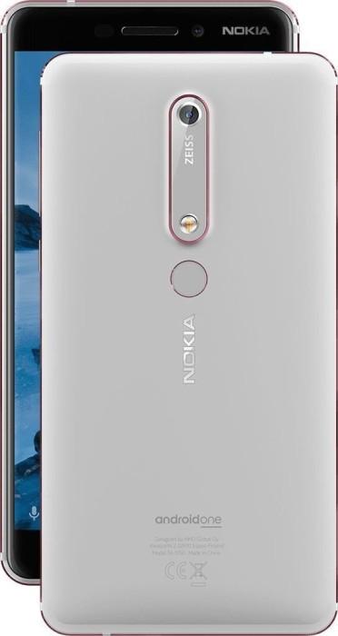 Nokia 6.1 Dual-SIM 32GB weiß