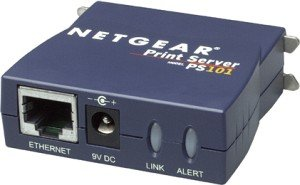 Netgear PS101 print server, parallel