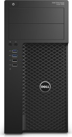 Dell Precision Tower 3620 Workstation, Core i7-7700, 16GB RAM, 1TB HDD, 256GB SSD, Windows 10 Pro (C77CV)