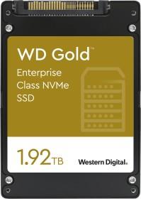 Western Digital Gold Enterprise Class NVMe SSD - 0.8DWPD 1.92TB, SE, U.2 (WDS192T1D0D)
