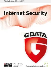 GData Software InternetSecurity, 6 User, 3 Jahre, ESD (deutsch) (Multi-Device) (C2002ESD36006)