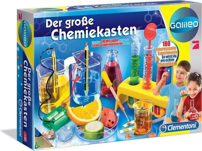 Clementoni Galileo - Der Große Chemiekasten (69457)