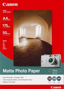 Canon MP-101 photo paper A4, 170g, 50 sheets (7981A005)