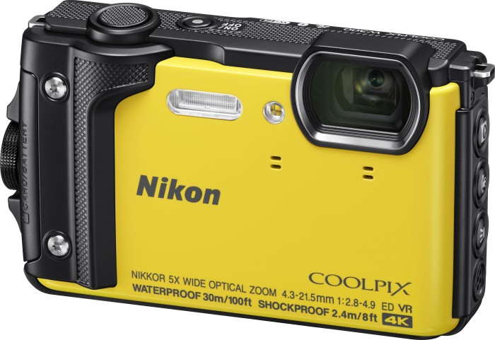 Nikon Coolpix W300 Holiday Kit gelb (VQA072K001)