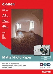 Canon MP-101 photo paper A3, 170g, 40 sheets (7981A008)