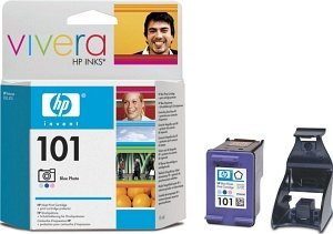 HP 101 Printhead with ink blue photo (C9365AE)