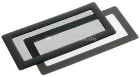DEMCiflex dust filter 2x 40mm square black/black (DF0077)