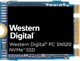 Western Digital PC SN520 NVMe SSD 512GB, M.2 2230 (SDAPTUW-512G)