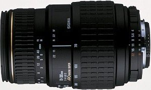 Sigma AF 70-300mm 4.0-5.6 APO macro Super II for Canon EF black (5A6927)
