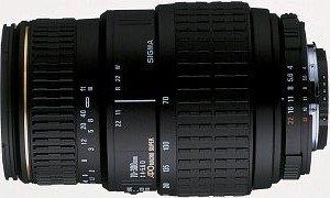 Sigma AF 70-300mm 4.0-5.6 APO Makro Super II für Canon EF schwarz (5A6927)