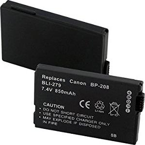 Canon BP-208 Li-Ion battery (0802B002) -- (c) DCI AG