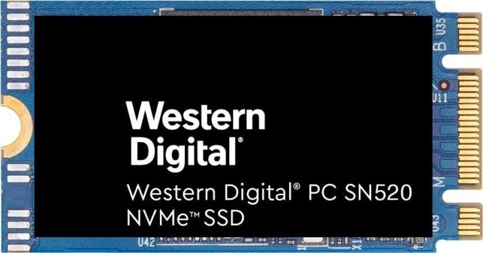 Western Digital PC SN520 NVMe SSD 512GB, M.2 2242 (SDAPMUW-512G)