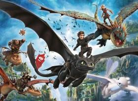 Ravensburger Puzzle Dragons Die verborgene Welt (10955)