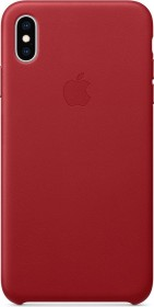 Apple Leder Case für iPhone XS Max rot (MRWQ2ZM/A)