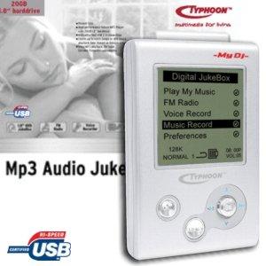 Anubis Typhoon jukebox My DJ 20GB (83073)