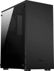 Jonsbo C5 schwarz, Glasfenster (C5 BLACK)