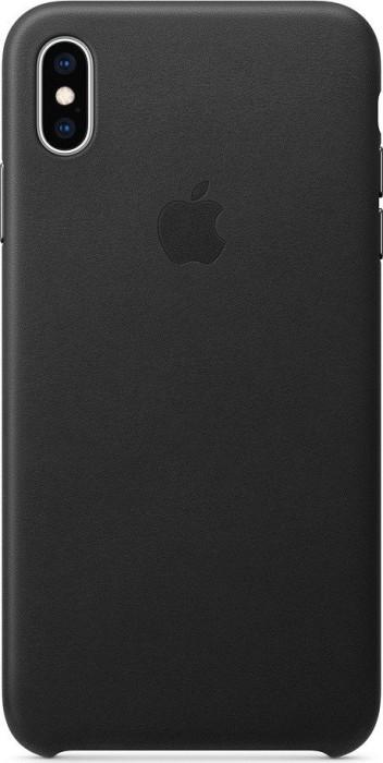 Apple Leder Case für iPhone XS Max schwarz (MRWT2ZM/A)
