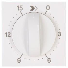 Kopp HK07 Abdeckung für Zeitschaltuhr, Laufzeit: 15 Min., reinweiß (313429152)