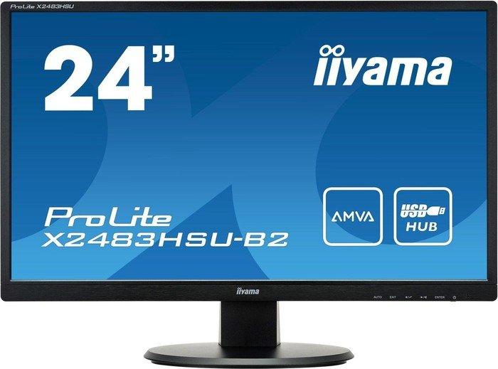"""iiyama ProLite X2483HSU-B2, 23.8"""""""