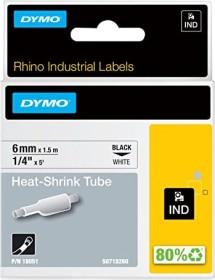 Dymo IND shrink tubing 6mm, black/white (S0718260/18051)