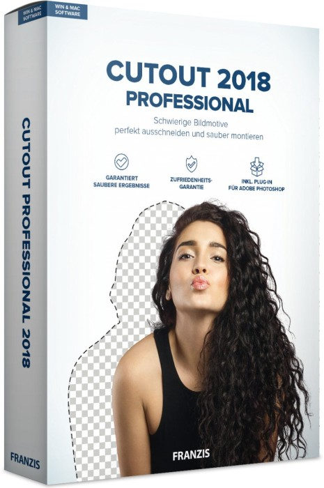 Franzis CutOut 2018 Professional, ESD (German) (PC)