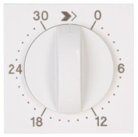 Kopp HK07 Abdeckung für Zeitschaltuhr, Laufzeit: 30 Min., reinweiß (313429303)