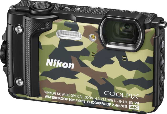 Nikon Coolpix W300 Holiday kit camouflage (VQA073K001)
