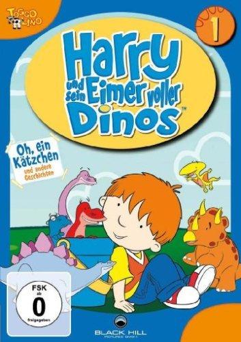Harry und sein Eimer voller Dinos Vol. 1: Oh, ein Kätzchen und andere Geschichten (Folgen 1-5) -- via Amazon Partnerprogramm