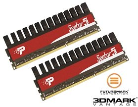 Patriot Viper II Sector 5 DIMM Kit   4GB, DDR3-2000, CL8-8-8-24 (PVV34G2000LLKB)