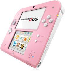 Nintendo 2DS pink/weiß (verschiedene Bundles)