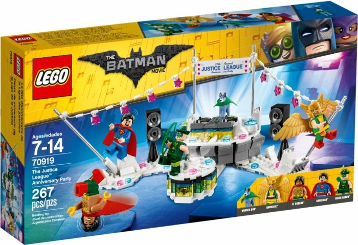 LEGO The Batman Movie - The Justice League Anniversary Party (70919)