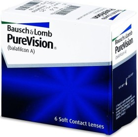 Bausch&Lomb PureVision Spheric, -11.00 Dioptrien, 6er-Pack