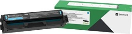 Lexmark Return Toner 20N2XC0 cyan extra hohe Kapazität (20N2XC0)