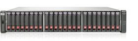 HP StorageWorks SAN P2000 G3 FC MSA SFF 7.2TB, 4x Fibre Channel 8Gb/s, 2HE (BV914A)