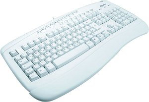Typhoon Multimedia Keyboard, PS/2, DE (40352)