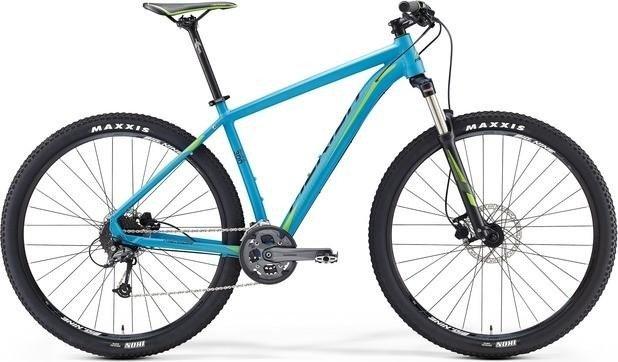 Merida Big Nine 300 matowy niebieski/zielony/czarny model 2016