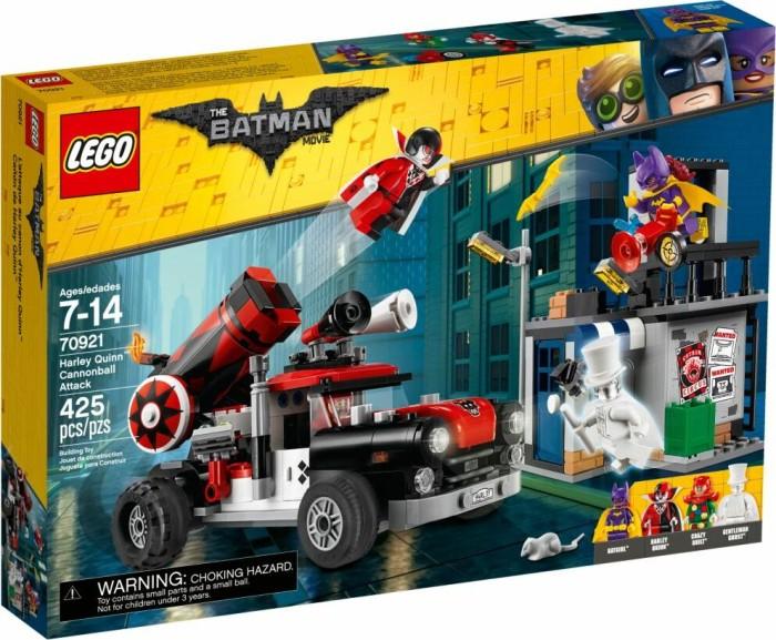 LEGO The Batman Movie - Harley Quinn Kanonenkugelattacke (70921)