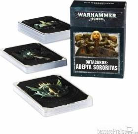 Games Workshop Warhammer 40.000 - Datakarten: Adepta Sororitas (DE) (04220108005)