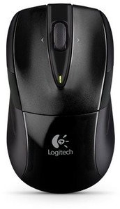 Logitech M525 wireless Mouse black, USB (910-002584)