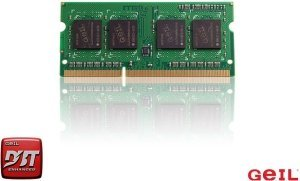 GeIL Green SO-DIMM 4GB, DDR3L-1333, CL9-9-9 (GGS34GB1333C9SC)