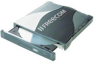 Freecom Traveller II Plus DVD+/-RW 4x, USB 2.0/CardBus (21866)