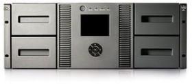 HP StorageWorks MSL4048 LTO-Ultrium 4 1840, 38.4/76.8TB, SCSI (AJ037A)