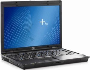 HP nc6400, Core 2 Duo T7200, 1GB RAM, 80GB, DVD+/-RW, IGP, Windows XP Professional (EH520AV/RH478EA)