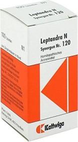 Synergon Nr. 120 Leptandra N Tabletten, 100 Stück